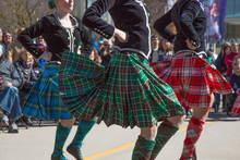 Group Young Females Scottish Dance