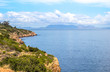 Sea view over False Bay from scenic road