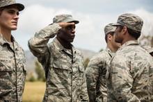 Military Trainer Giving Traini...