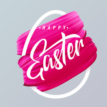 Happy Easter Pink Lipstick Sme...
