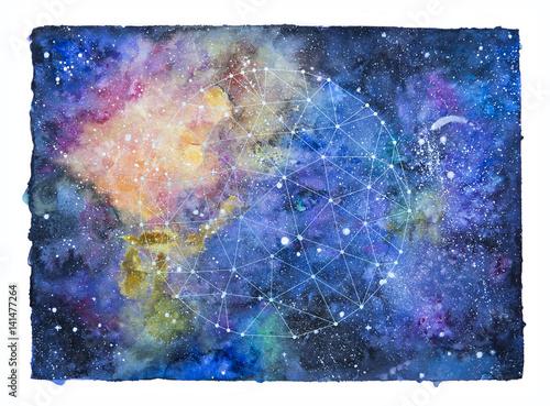 akwarela-przestrzeni-kosmicznej