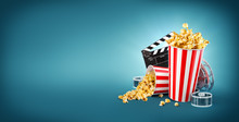 Unusual Cinema Concept 3D Illu...