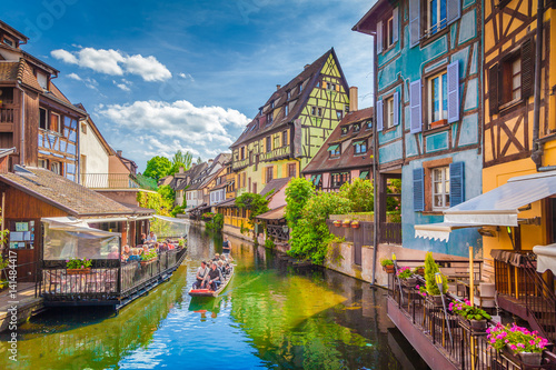 Historic town of Colmar, Alsace region, France