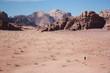 Desert Wadi Rum in Jordan, Middle East