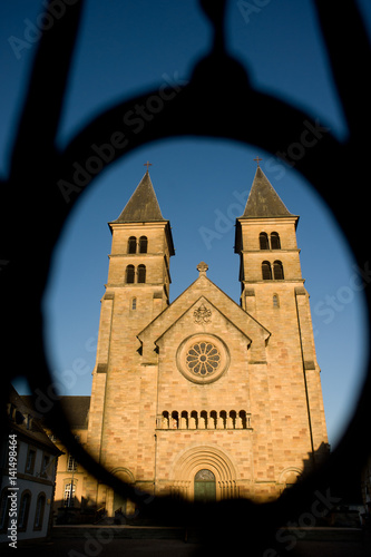Fotografía de St. Willibrordbasiliek in Echternach,Luxemburg