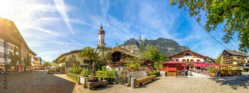 Garmisch-Partenkirchen, Panorama Fotobehang