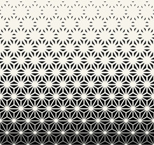 Sacred Geometry Halftone Trian...
