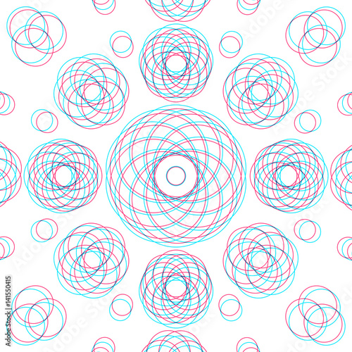 Canvastavla  vector abstract sacred geometry decoration.