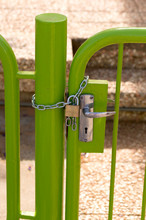 On The Gate Lock