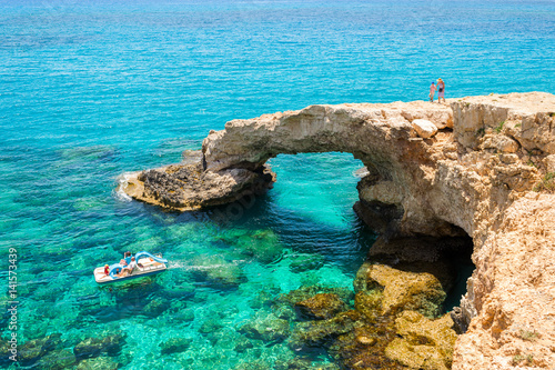 Spoed Foto op Canvas Cyprus Cyprus, Bridge of Lovers