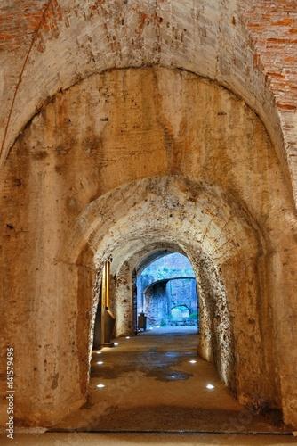 Staande foto Historisch geb. Lucca tunnel