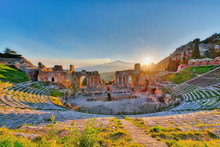 Ancient Theatre Of Taormina Wi...