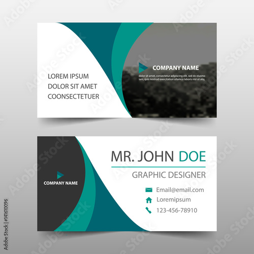 Green curve corporate business card name card template horizontal green curve corporate business card name card template horizontal simple clean layout design template maxwellsz