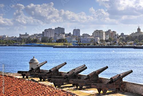 Havana skyline, Cuba Wallpaper Mural