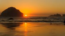 Facerock Sunset
