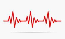 Heartbeat Icon - Vector Illust...
