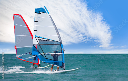 Windsurfing Canvas