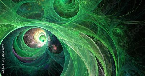 fraktal-zielony-wszechswiat