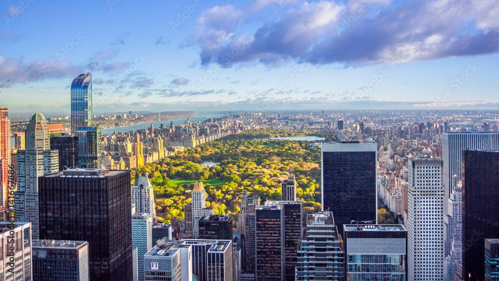Fototapety, obrazy: New York Central park Panorama