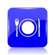 canvas print picture - Restaurant icon