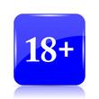 canvas print picture - 18 plus icon