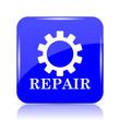 Leinwanddruck Bild - Repair icon