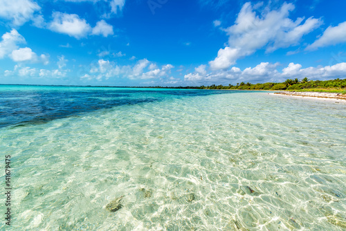 Photo Beautiful Caribbean Sea