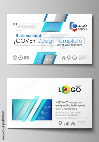 Business card templates easy editable layout abstract vector business card templates easy editable layout abstract vector design template chemistry pattern fbccfo Choice Image
