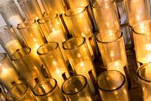 Many Votive Candles