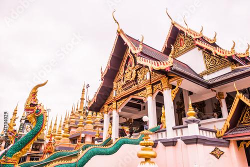 Wall Murals Temple Beautiful Church at Huai Sai Khao Temple