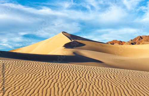 Foto  Sand Dunes in the Afternoon