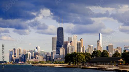Zdjęcie XXL Downtown Chicago