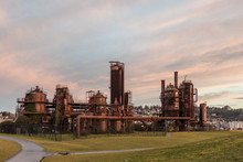 Rusted Factory Gasworks Park S...
