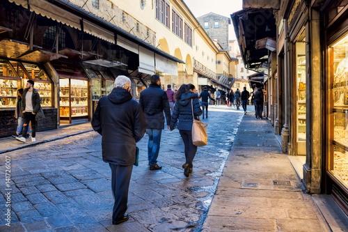 Papiers peints Tunnel Florenz, Ponte Vecchio