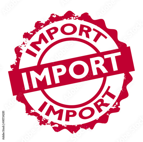 import stamp sign seal logo