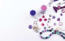 Glass Seed And Bugle Beads, St...