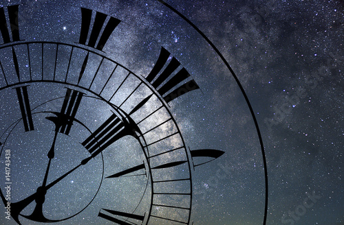 Fotografie, Obraz  Time Warp. Time and Space, General Relativity.