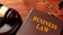 Book With Title Business Law A...