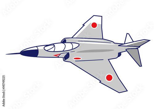 Fotografie, Obraz  F-4戦闘機
