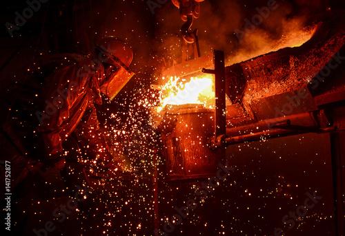 Fotografie, Obraz  Steel Foundry