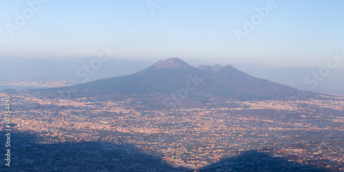 Europe,italy,Campania,Naples..Vesuvius at dawn