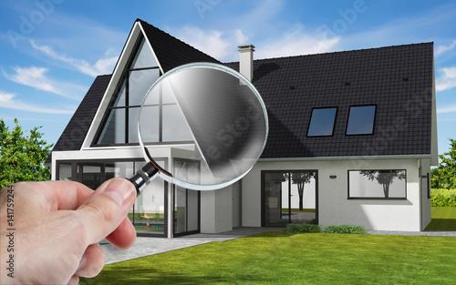 Présentation d\'une maison sur tablette avec zoom sur véranda - Buy ...