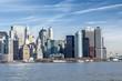 Downtown Manhattan across the Hudson River, New York, Manhattan, United States of America