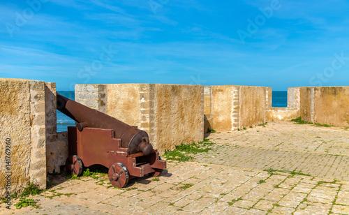Staande foto Afrika Fortifications of the Portuguese City of Mazagan in El-Jadidia, Morocco