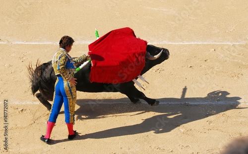 Keuken foto achterwand Stierenvechten corrida 1