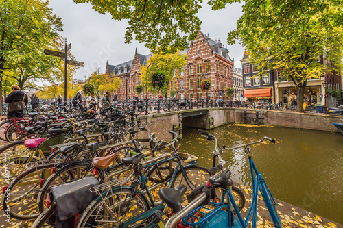 Photo  Autumn In Amsterdam, the Netherlands
