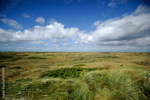 Carta da parati Landscape of Blavand, Jutland, Denmark