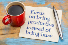 Focus On Being Productive Inst...