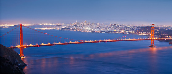 The Famous Golden Gate Bridge