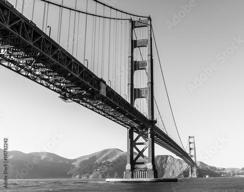 Fototapeta na wymiar The Famous Golden Gate Bridge